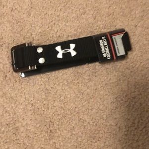 NWT Black football belt